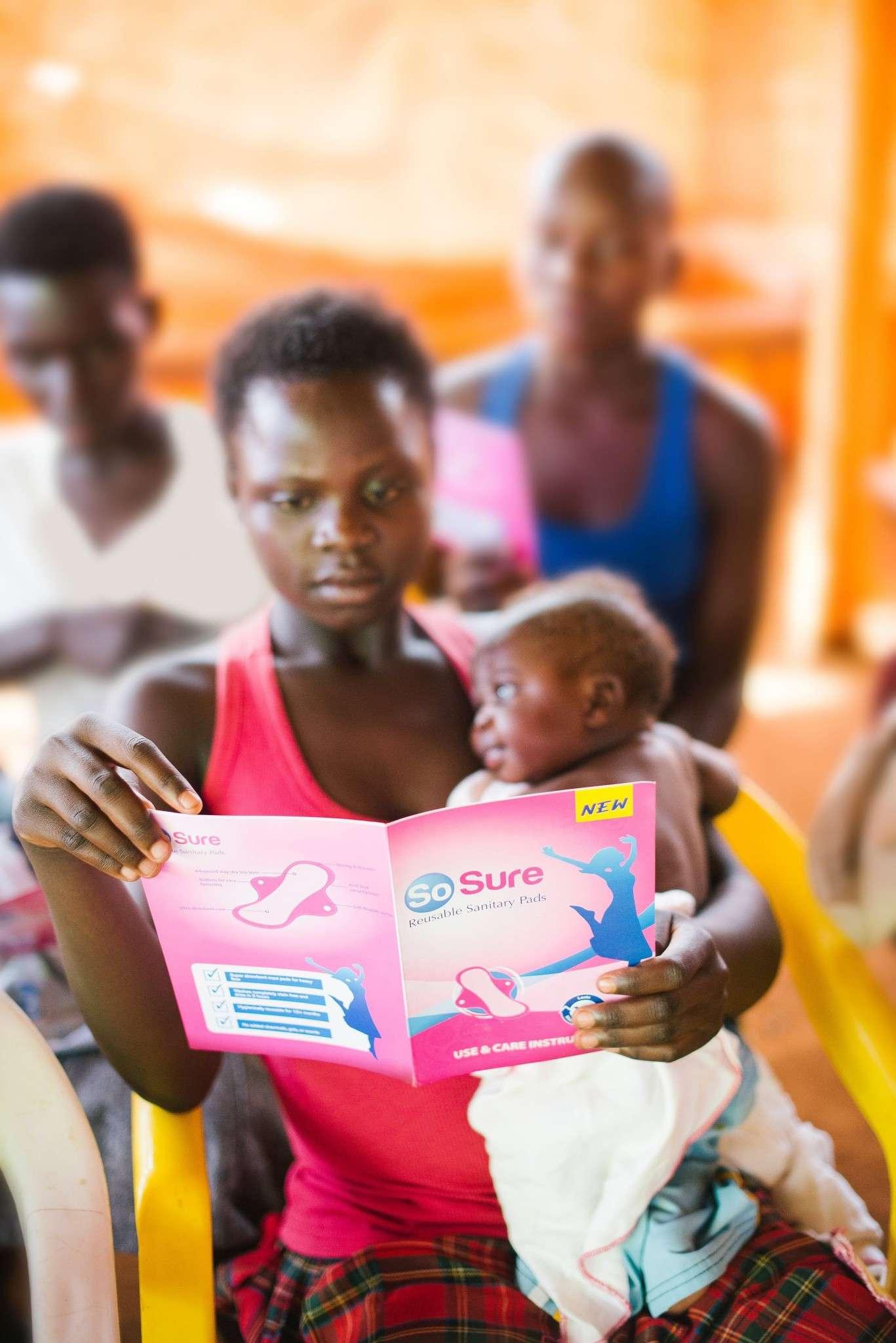 Mother with baby Uganda